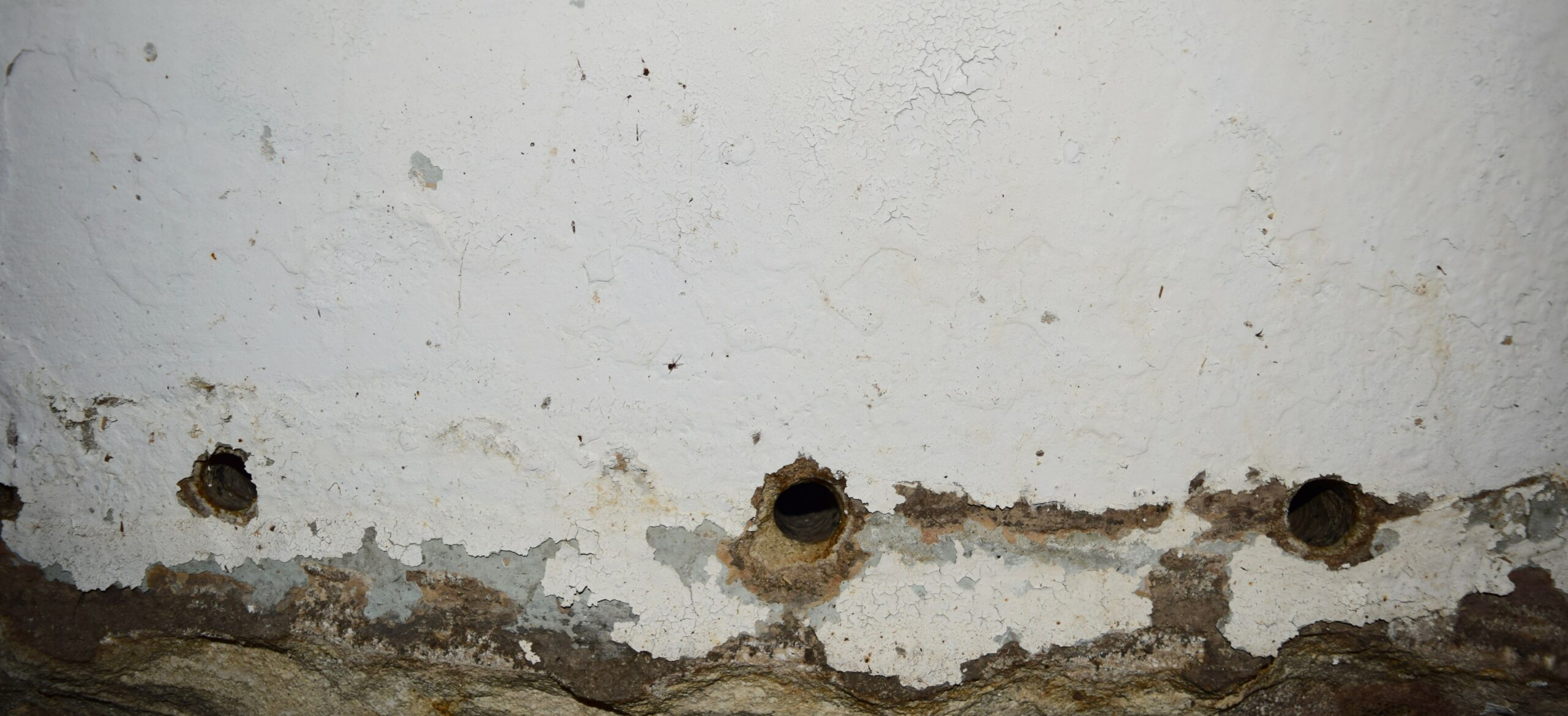 Weep holes basement waterproofing nj